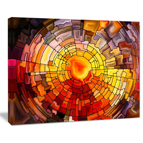 Design Art Return of Stained Glass Canvas Print - image 2 of 3