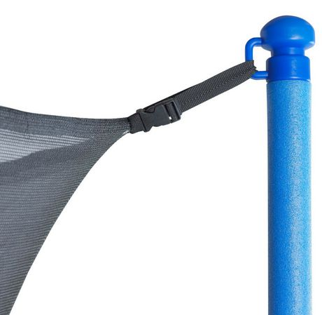 Upper bounce Trampoline Replacement Enclosure Net, Fits for 15 Ft. Round Frames, with Adjustable Straps, Using 6 Poles Or 3 Arches - Net Only - image 2 of 6