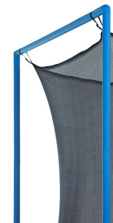 Upper bounce Trampoline Replacement Enclosure Net, Fits for 15 Ft. Round Frames, with Adjustable Straps, Using 6 Poles Or 3 Arches - Net Only - image 3 of 6