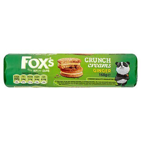 Fox's Ginger Crunch Creams Biscuits | Walmart.ca