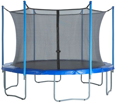 Upper bounce Trampoline Replacement Enclosure Net, Fits for 15 Ft. Round Frames, with Adjustable Straps, Using 6 Poles Or 3 Arches - Net Only - image 6 of 6