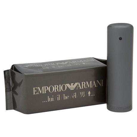 cc6cb324da1 Giorgio Armani Emporio HE Eau De Toilette Spray for MEN 50 ml - image 1 of  ...