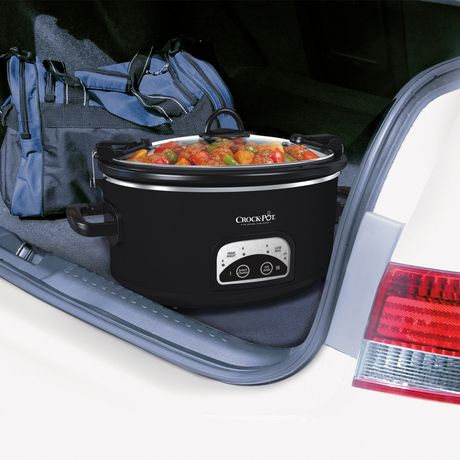 Crock-Pot® 6 Qt. Cook & Carry™ Programmable Slow Cooker - image 2 of 4