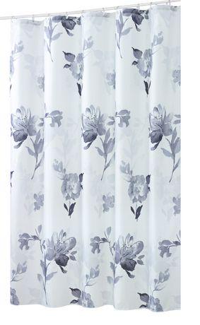 Rideau de douche hometrends en tissu polyestre aquarelle walmart canada - Achat de tissus en ligne canada ...