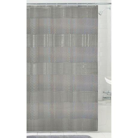 Mainstays Lenticular Holo PEVA Shower Curtain