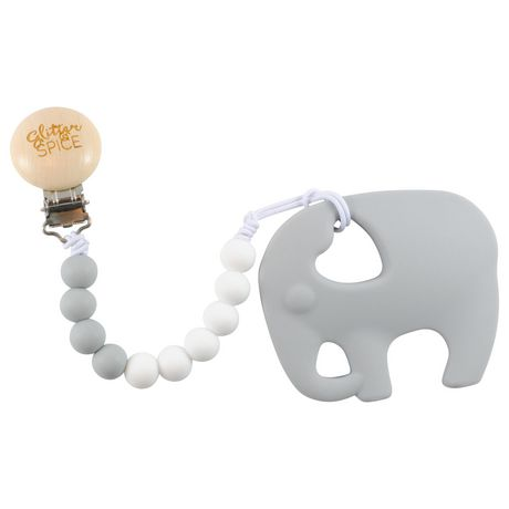 Glitter and Spice Elephant Teether - image 1 of 1