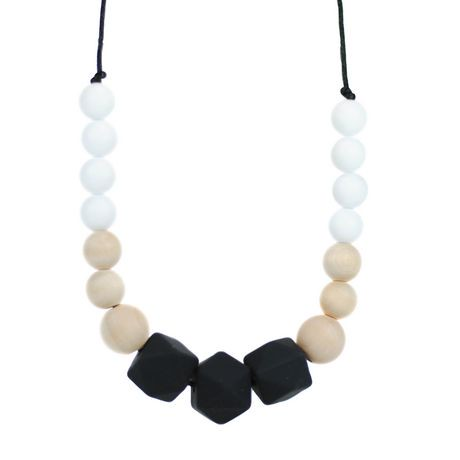 glitter and spice gradient teething necklace walmart canada