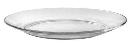 Duralex Lys Clear Glass Plate Set of 6 - image 1 of 2