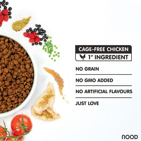NOOD Cage-Free Chicken & Pea Cat Food - image 3 of 8