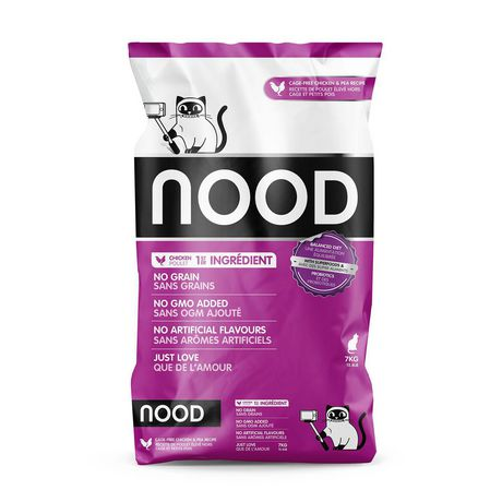 NOOD Cage-Free Chicken & Pea Cat Food - image 1 of 8