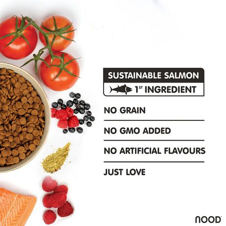 NOOD Sustainable Salmon & Pea Cat Food - image 3 of 7