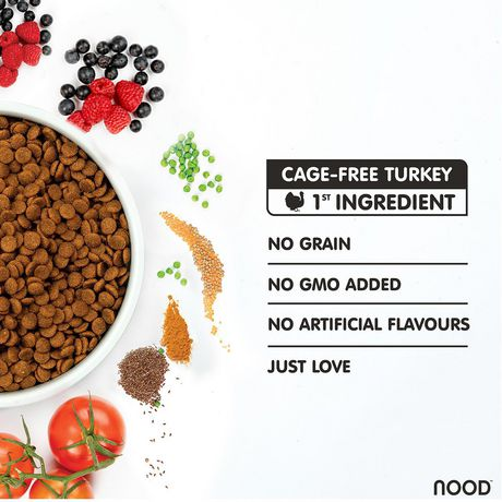 NOOD Cage-Free Turkey & Pea Cat Food - image 3 of 7