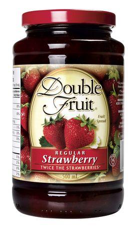 confiture de fraise double fruit