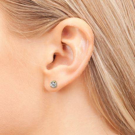 Pure316 - 0.40 Carat T.W. Diamond 18 K White Gold Solitaire Screw-Back Stud Earrings - image 3 of 3