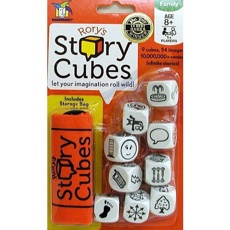 Creativity Hub Rory's Story Cubes - image 1 of 1