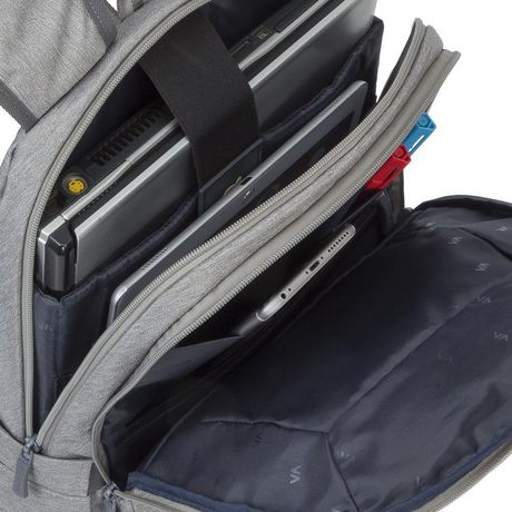 RIVACASE 7760 GREY 15.6 INCH LAPTOP BACKPACK - image 7 of 7