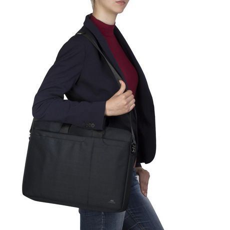 RIVACASE 8335 BLACK 15.6 INCH LAPTOP BAG - image 3 of 5