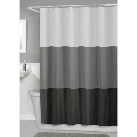 Hometrends Fabric Shower Curtain
