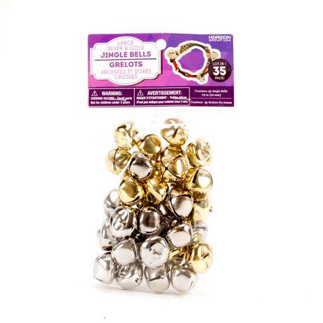 Bells Gold 20mm Pack of 3
