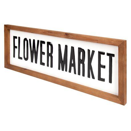 Flower Market Metal Sign - image 2 of 4