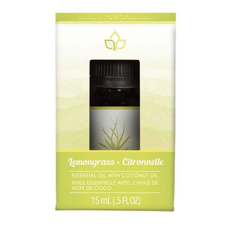 Simply Essentials Lemongrass Essential Oil Blend - image 1 of 1