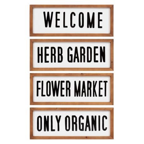Flower Market Metal Sign - image 4 of 4