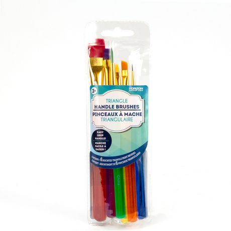 Horizon Group USA Triangle-Handle Paint Brushes | Walmart Canada