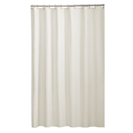 mainstays fabric shower liner