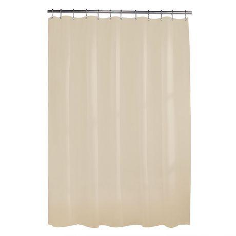 Mainstays Heavyweight 10G Shower Curtain Liner