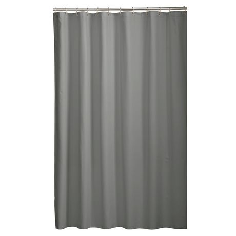 Curtains Ideas black cloth shower curtain : Mainstays Microfiber Fabric Shower Curtain Liner | Walmart.ca