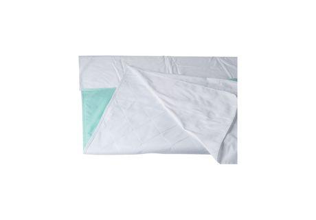Protecteur réutilisable d'incontinence DMI en vinyle vert à 4 plis - image 3 de 3