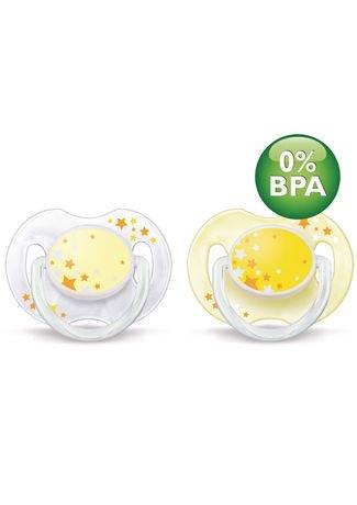 Philips Avent SCF176/18 Sans BPA - Sucettes, nuit 0-6 mois, 2 pcs | Walmart Canada