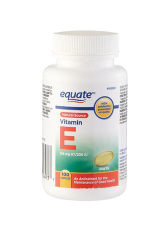 Equate Vitamin E 134 mg AT/200 IU, 100 Capsules