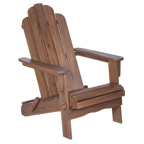 Manor Park Acacia Wood Adirondack Outdoor Patio Chair - Multiple Finishes - image 8 of 9