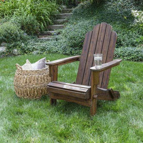 Manor Park Acacia Wood Adirondack Outdoor Patio Chair - Multiple Finishes - image 1 of 9