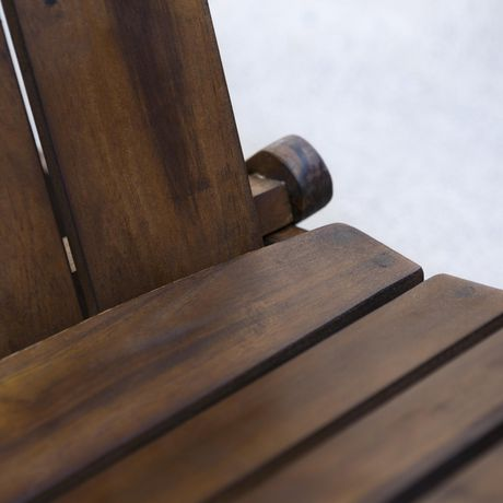 Manor Park Acacia Wood Adirondack Outdoor Patio Chair - Multiple Finishes - image 4 of 9