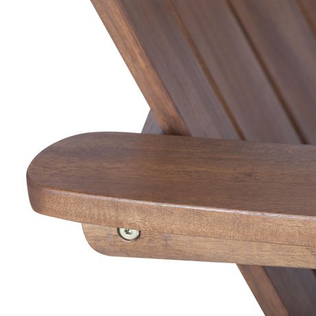 Manor Park Acacia Wood Adirondack Outdoor Patio Chair - Multiple Finishes - image 7 of 9