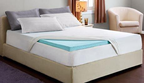 Hometrends 2 Quot Cool Gel Memory Foam Topper Double Size