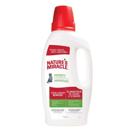 Nature's Miracle Stain & Odour Remover for Cats, 946ml - image 1 of 6