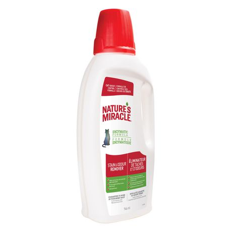 Nature's Miracle Stain & Odour Remover for Cats, 946ml - image 3 of 6