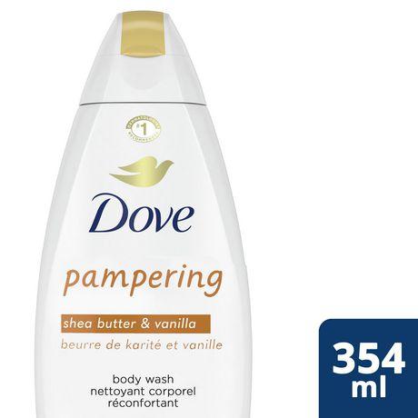 Dove Shea Butter & Warm Vanilla Body Wash - image 2 of 9
