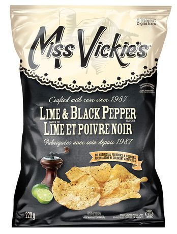 Miss Vickie's Lime & Black Pepper Potato Chips | Walmart ...