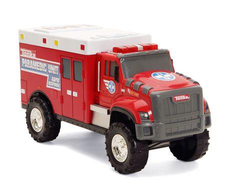 Tonka Rescue Force Tough Cab Ambulance - image 1 of 1