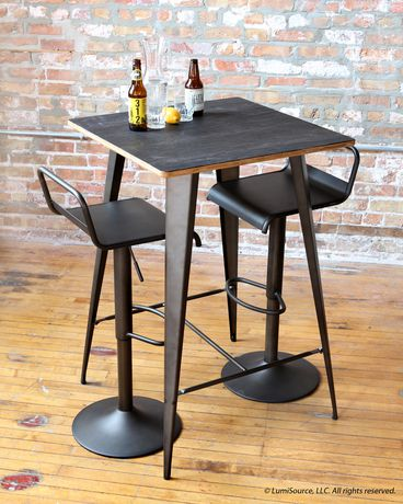 Tabouret de bar contemporain emery par lumisource for Tabouret bar contemporain