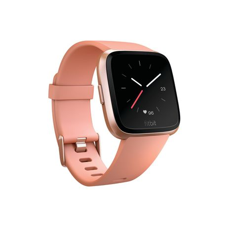 Fitbit Versa Smartwatch, Black Aluminum Case And Black Classic Band by Fitbit