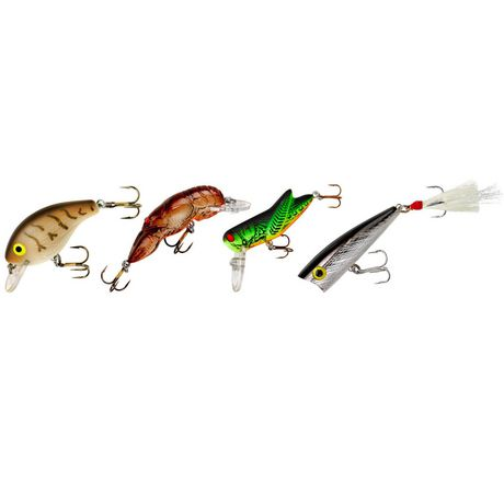 Rebel classic critters lure kit for Walmart fishing spinners