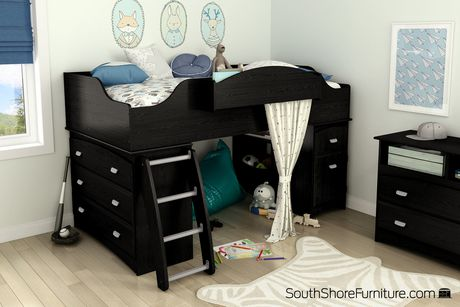 South Shore Imagine Twin Loft Bed 39 Walmart Canada