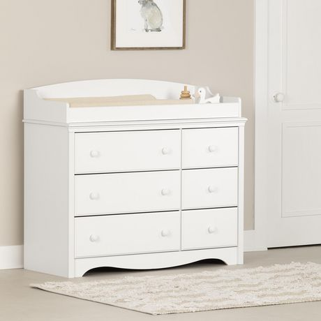 Marvelous South Shore Angel Changing Table With 6 Drawers