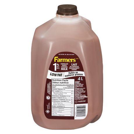 Farmers 1% Chocolate Milk - image 1 of 3