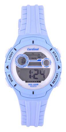 LADIES BLUE CARDINAL LCD WATCH - image 1 of 2